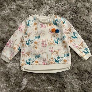 Zara Pom Pom Sweater